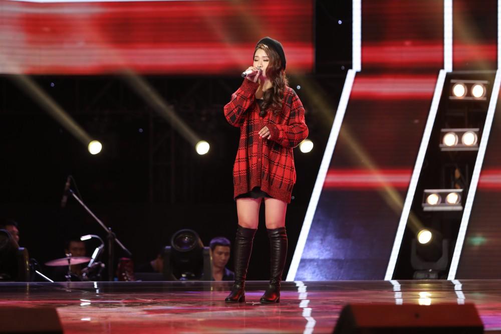 Giọng hát Việt: Noo Phước Thịnh - Tóc Tiên lại căng thẳng vì thí sinh giọng khủng - Ảnh 7.