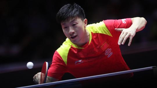 Cao thủ bóng bàn Trung Quốc thua sốc tay vợt 14 tuổi Harimoto - Ảnh 2.