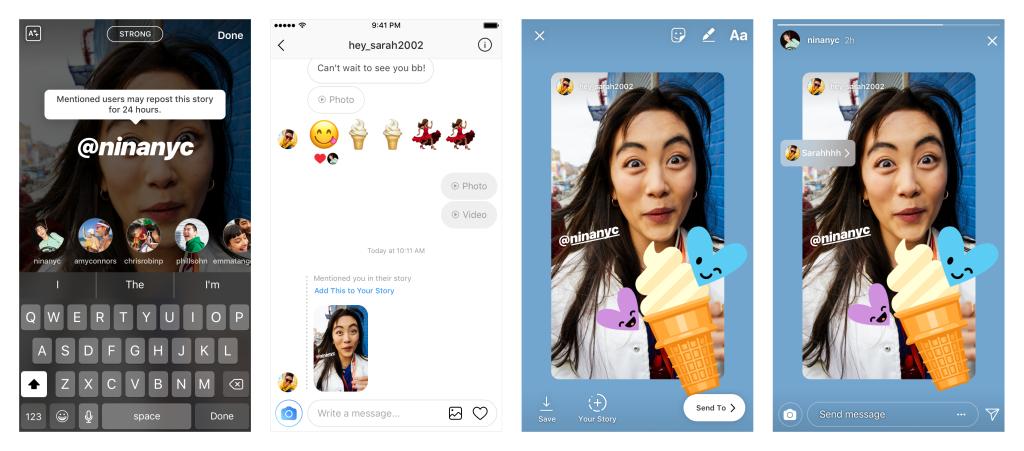 Instagram đã cho copy Stories của người khác để đăng lại trên feed của riêng mình - Ảnh 1.