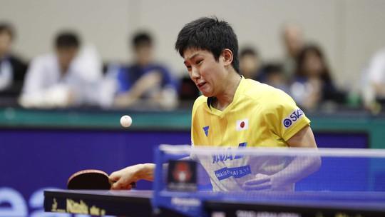 Cao thủ bóng bàn Trung Quốc thua sốc tay vợt 14 tuổi Harimoto - Ảnh 4.