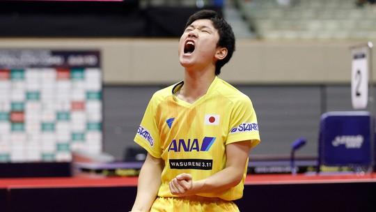 Cao thủ bóng bàn Trung Quốc thua sốc tay vợt 14 tuổi Harimoto - Ảnh 5.
