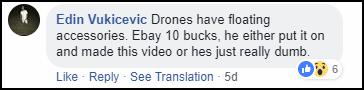 Thấy anh chàng nhảy xuống hồ có cá chết để cứu drone, cư dân mạng không khen lại còn ném đá ầm ầm - Ảnh 8.