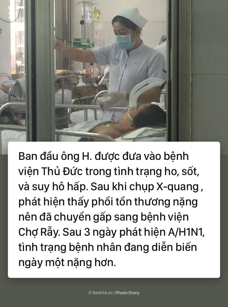 Cảnh báo bùng phát dịch cúm A/H1N1 tại TP.HCM: Đã có người tử vong - Ảnh 3.