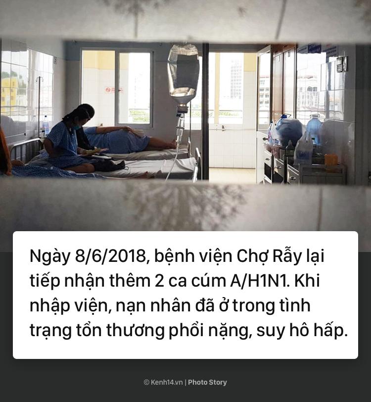 Cảnh báo bùng phát dịch cúm A/H1N1 tại TP.HCM: Đã có người tử vong - Ảnh 9.