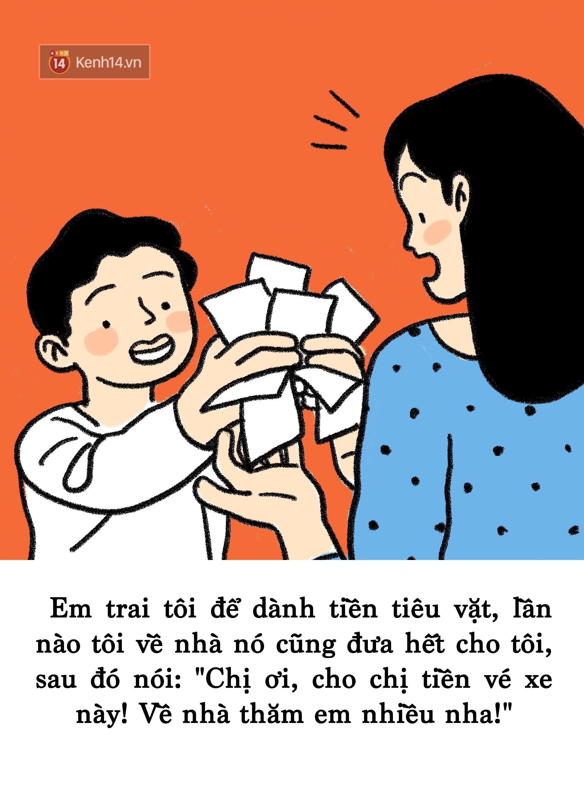 Những việc làm ấm áp của em trai chứng minh mình chính là cục nợ ngọt ngào nhất của mỗi bà chị - Ảnh 3.