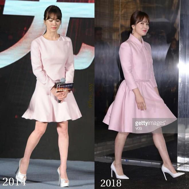 Song Hye Kyo trung thành diện một kiểu váy đơn giản trong nhiều năm - Ảnh 1.