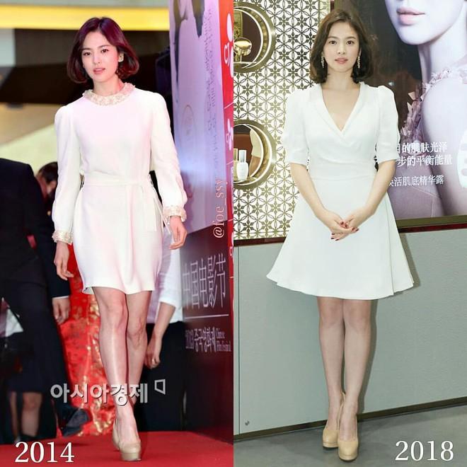Song Hye Kyo trung thành diện một kiểu váy đơn giản trong nhiều năm - Ảnh 2.