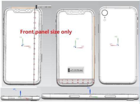 Lộ diện bản vẽ thiết kế xác nhận iPhone X Plus sẽ sử dụng cụm 3 camera sau giống như Huawei P20 Pro - Ảnh 2.