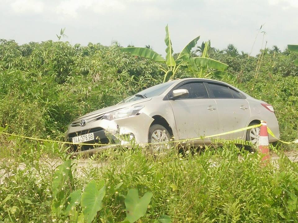 Vụ tài xế taxi tử vong bên đường: Nạn nhân được xác định bị sát hại - Ảnh 3.