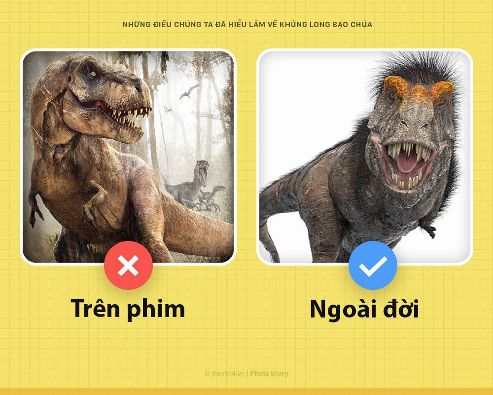 Hey! Là T-Rex bạo chúa của Jurassic World đây và các ông đã nhầm về tôi hết rồi - Ảnh 4.