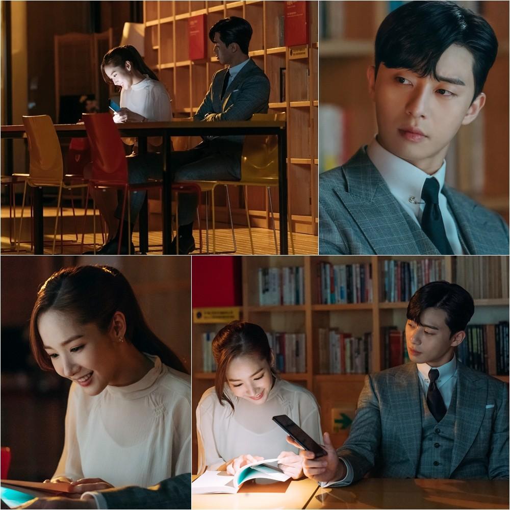 Thư Ký Kim: Park Seo Joon đơ mặt vì crush thân mật bên hai tình địch, anh thứ hai cực đẹp trai - Ảnh 4.