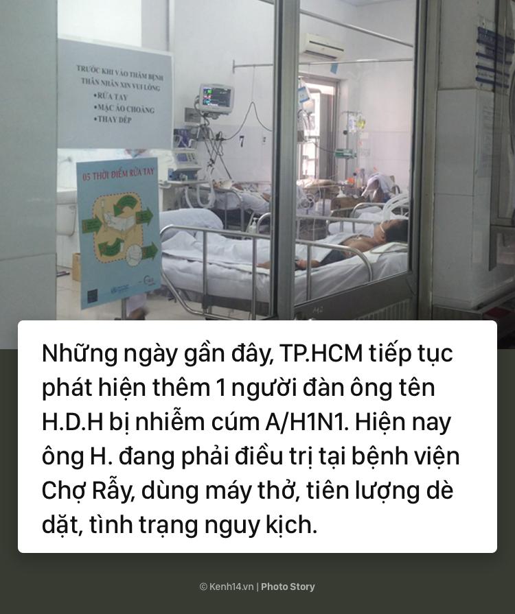 Cảnh báo bùng phát dịch cúm A/H1N1 tại TP.HCM: Đã có người tử vong - Ảnh 1.