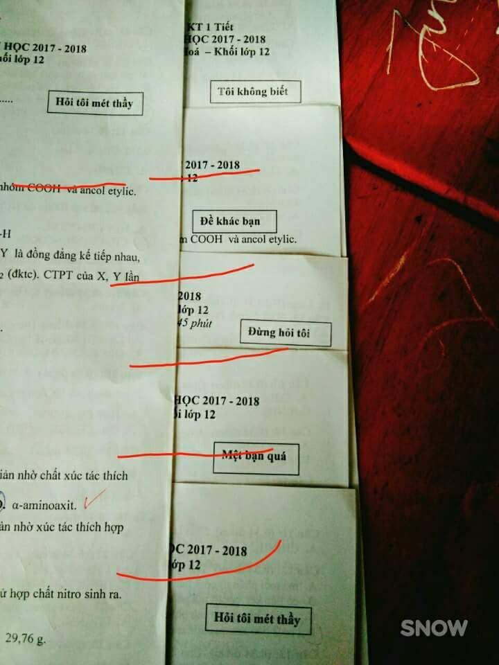 Thầy giáo Địa Lý dùng tên các CLB bóng đá hàng đầu làm mã đề thi cho mới lạ - Ảnh 2.