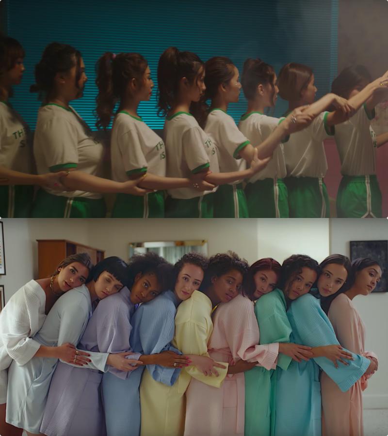 MV mới của Hoàng Yến Chibi dính nghi vấn đạo nhái concept MV tỉ view của Dua Lipa - Ảnh 5.