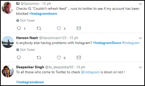 Instagram đang gặp lỗi không thể load ảnh và tải dữ liệu ở rất nhiều nơi trên thế giới - Ảnh 4.
