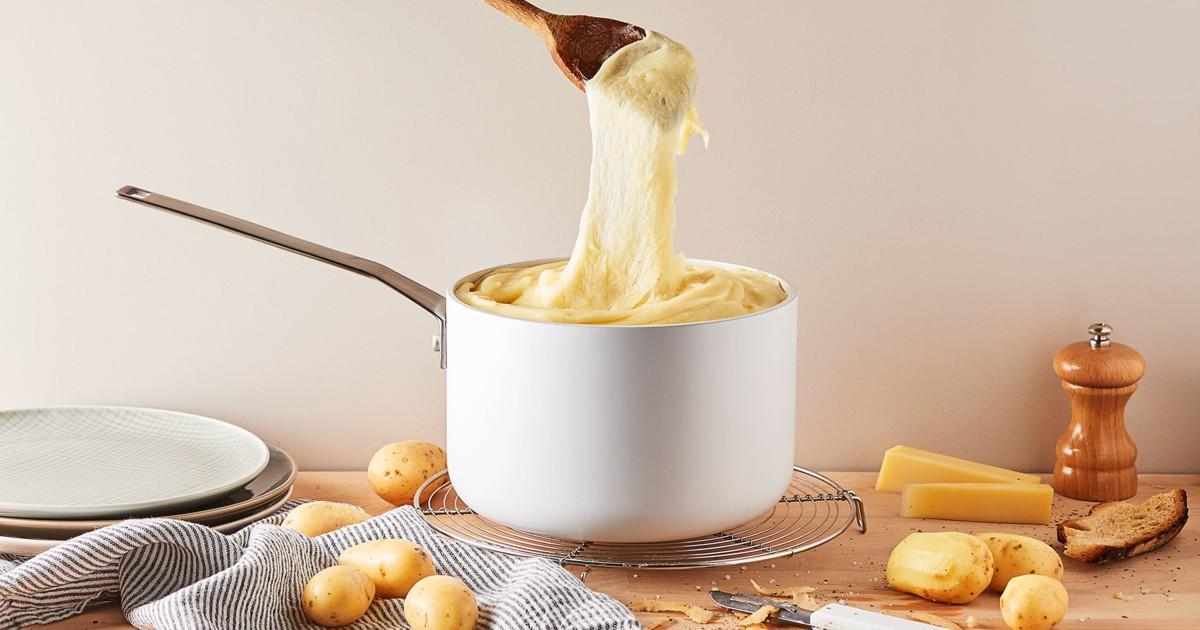 Bái phục sự sáng tạo của người Pháp với món ăn từ phô mai chỉ cần nhìn thôi cũng chảy nước miếng - Ảnh 4.