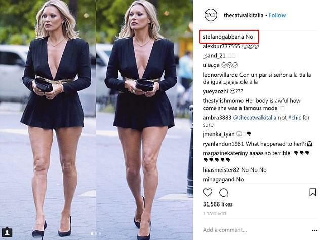 NTK của Dolce Gabbana tỏ ý chê Kate Moss mặc xấu, giới mộ điệu lập tức chỉ trích: GATO! - Ảnh 3.