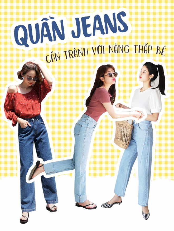 Nàng nào chân ngắn thử ngay mấy dáng quần jeans này, nhìn cao thêm cả chục phân chứ chẳng ít - Ảnh 2.