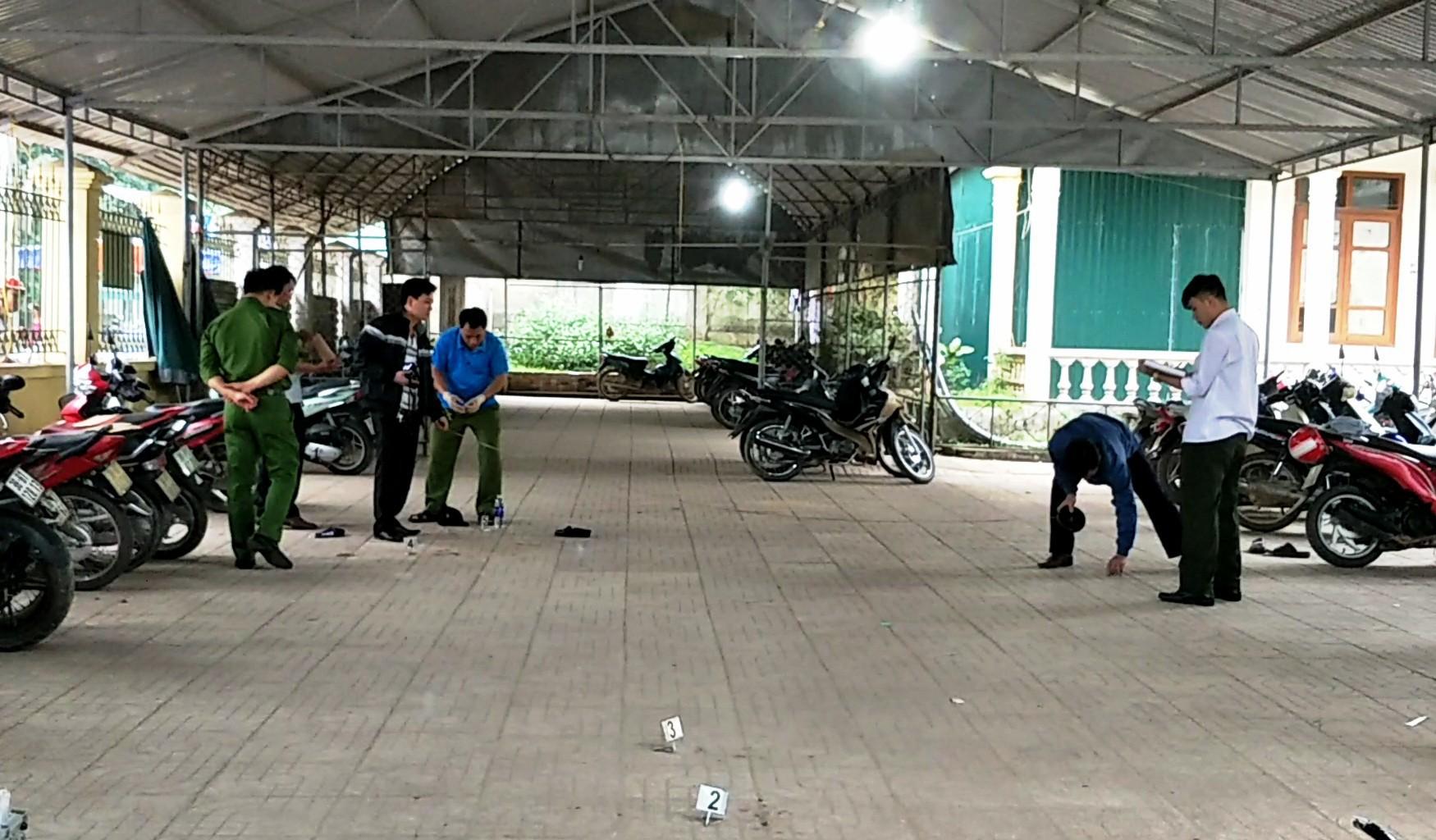 Bắc Giang: Con trai đâm chết bác ruột, cha đi đầu thú nhận tội thay - Ảnh 1.