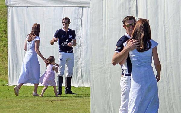 Không phải William, đây mới là người đàn ông đã khiến Kate vui vẻ chạy tới ôm hôn - Ảnh 4.