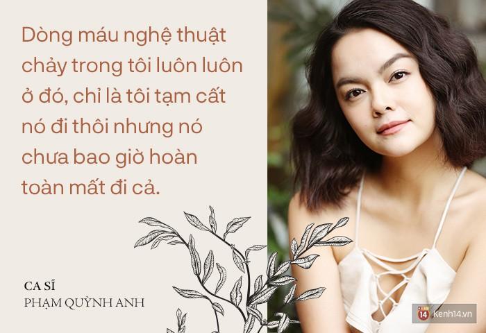 Phạm Quỳnh Anh: Tôi đang sống thật với âm nhạc, không phải trở lại để chạy đua, so đo với ai - Ảnh 4.