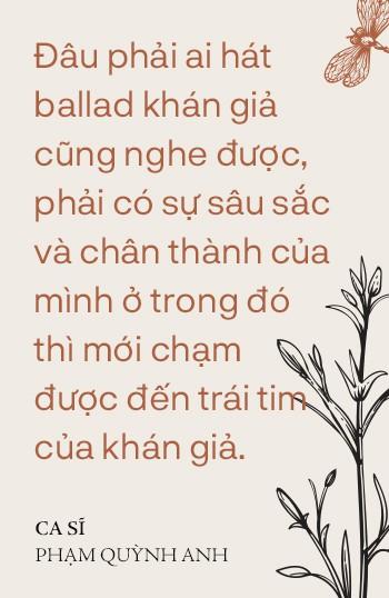 Phạm Quỳnh Anh: Tôi đang sống thật với âm nhạc, không phải trở lại để chạy đua, so đo với ai - Ảnh 6.