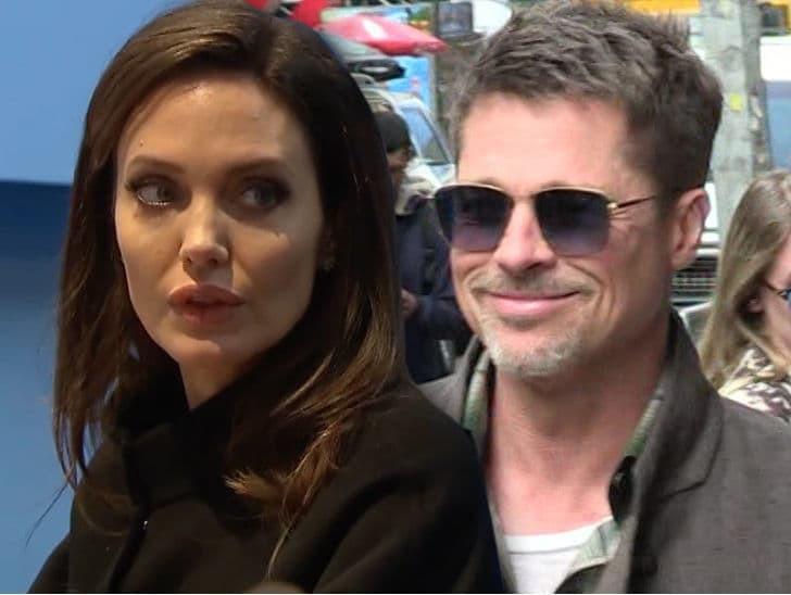 Tòa án đe dọa truất quyền nuôi con của Angelina Jolie nếu không để Brad Pitt gặp các bé - Ảnh 1.