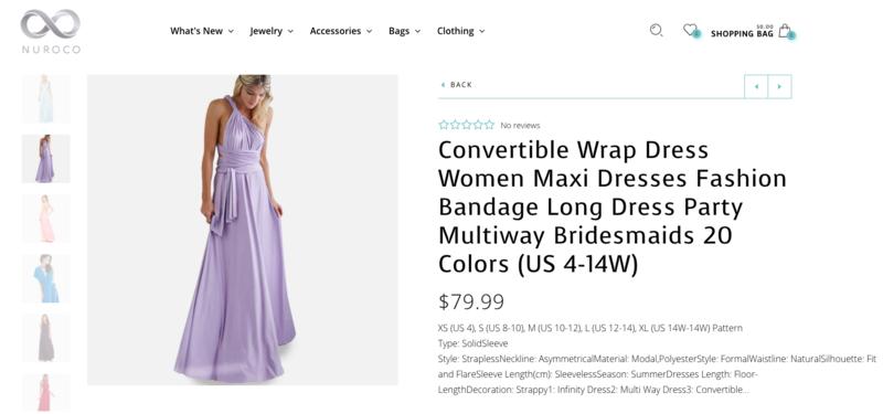 Trải nghiệm váy thần kỳ mặc được chục kiểu khác nhau: Đời không như là mơ - Ảnh 2.