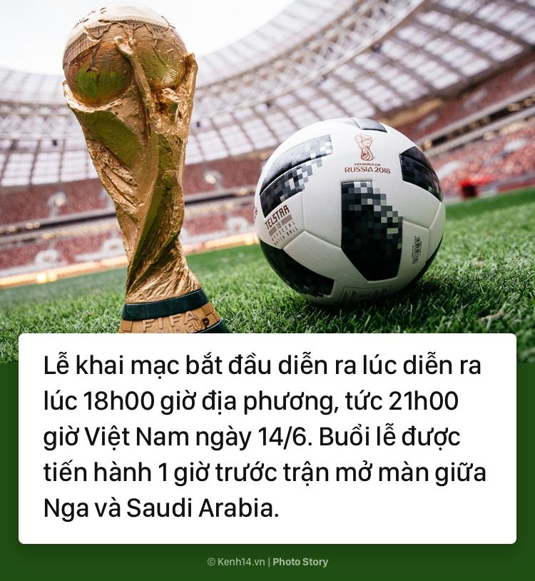 Lễ khai mạc World Cup 2018: Những điều thú vị đáng để chờ đợi - Ảnh 1.