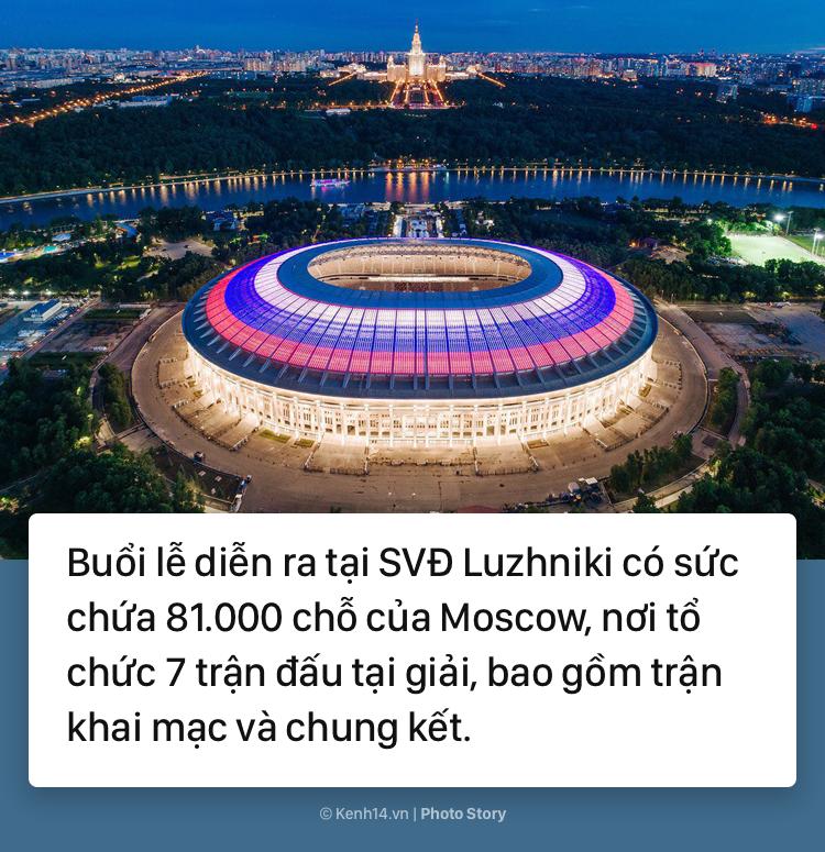 Lễ khai mạc World Cup 2018: Những điều thú vị đáng để chờ đợi - Ảnh 3.