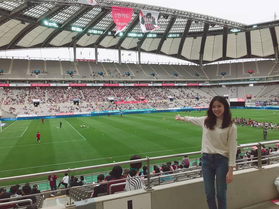 Nữ MC Hàn Quốc có nụ cười đổi đời tại World Cup 2014 giờ ra sao? - Ảnh 11.