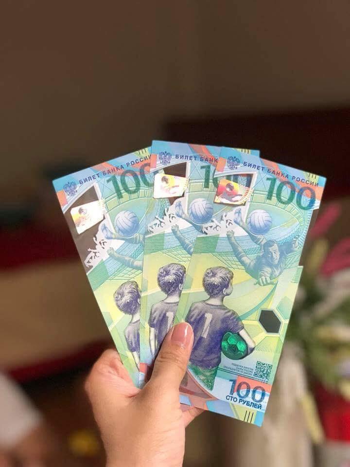 Cư dân mạng thi nhau khoe ảnh sở hữu tờ tiền 100 rúp phiên bản World Cup đến từ nước Nga - Ảnh 5.