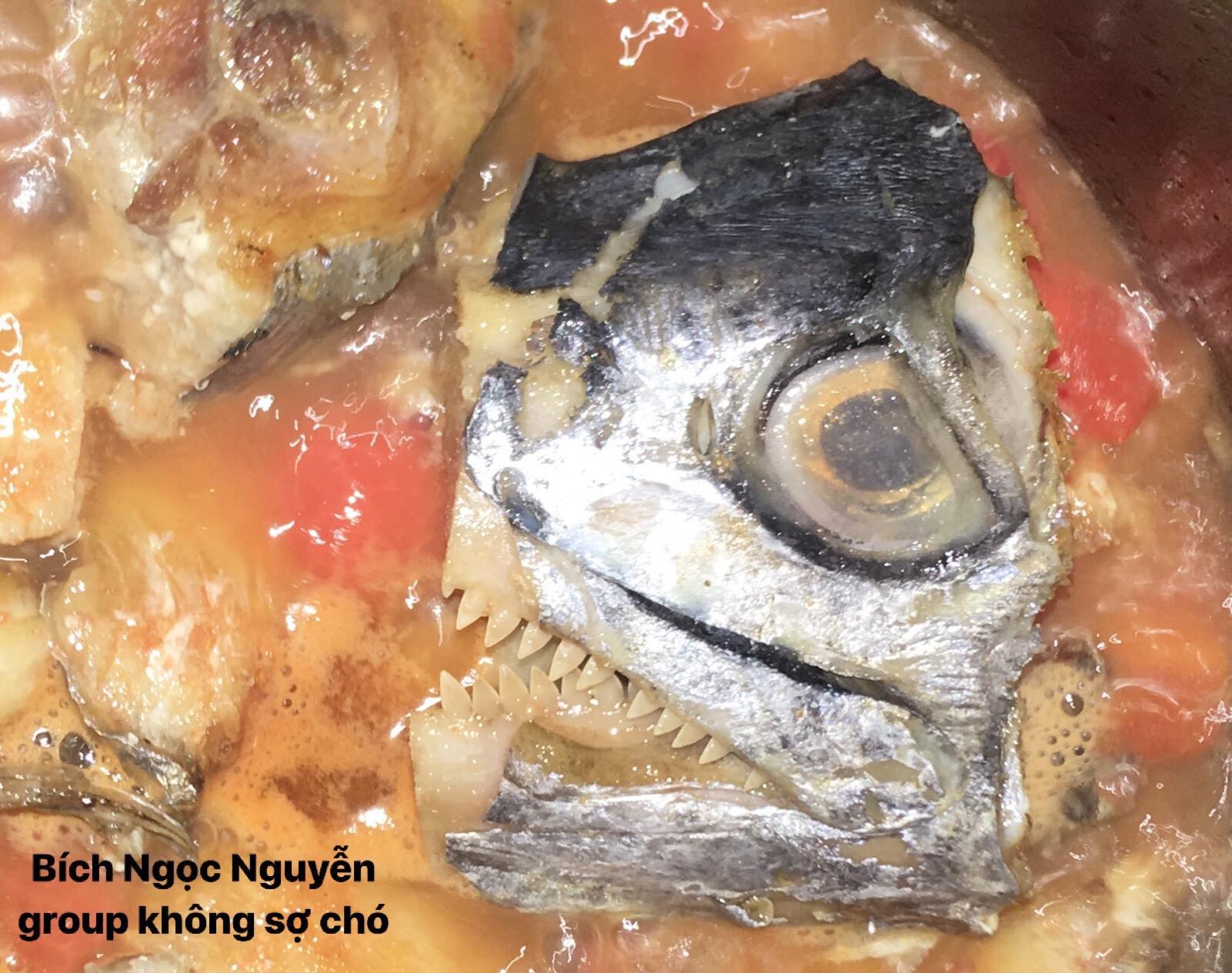 Góc đảm đang: Xuất hiện món cá thu tử thần trên MXH, phải là người dũng cảm mới ăn được - Ảnh 2.