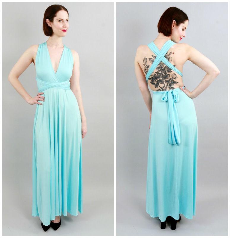 Trải nghiệm váy thần kỳ mặc được chục kiểu khác nhau: Đời không như là mơ - Ảnh 5.