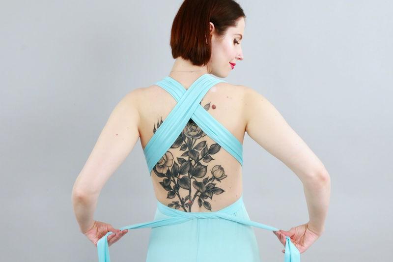 Trải nghiệm váy thần kỳ mặc được chục kiểu khác nhau: Đời không như là mơ - Ảnh 6.