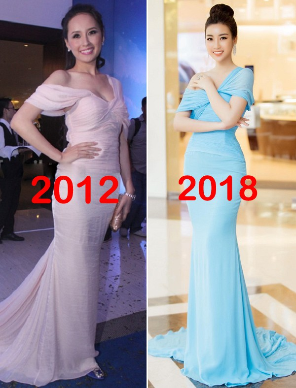 Bộ cánh mới nhất của Hoa hậu Mỹ Linh giống lạ kỳ hàng hiệu từ 6 năm trước của Mai Phương Thúy - Ảnh 5.