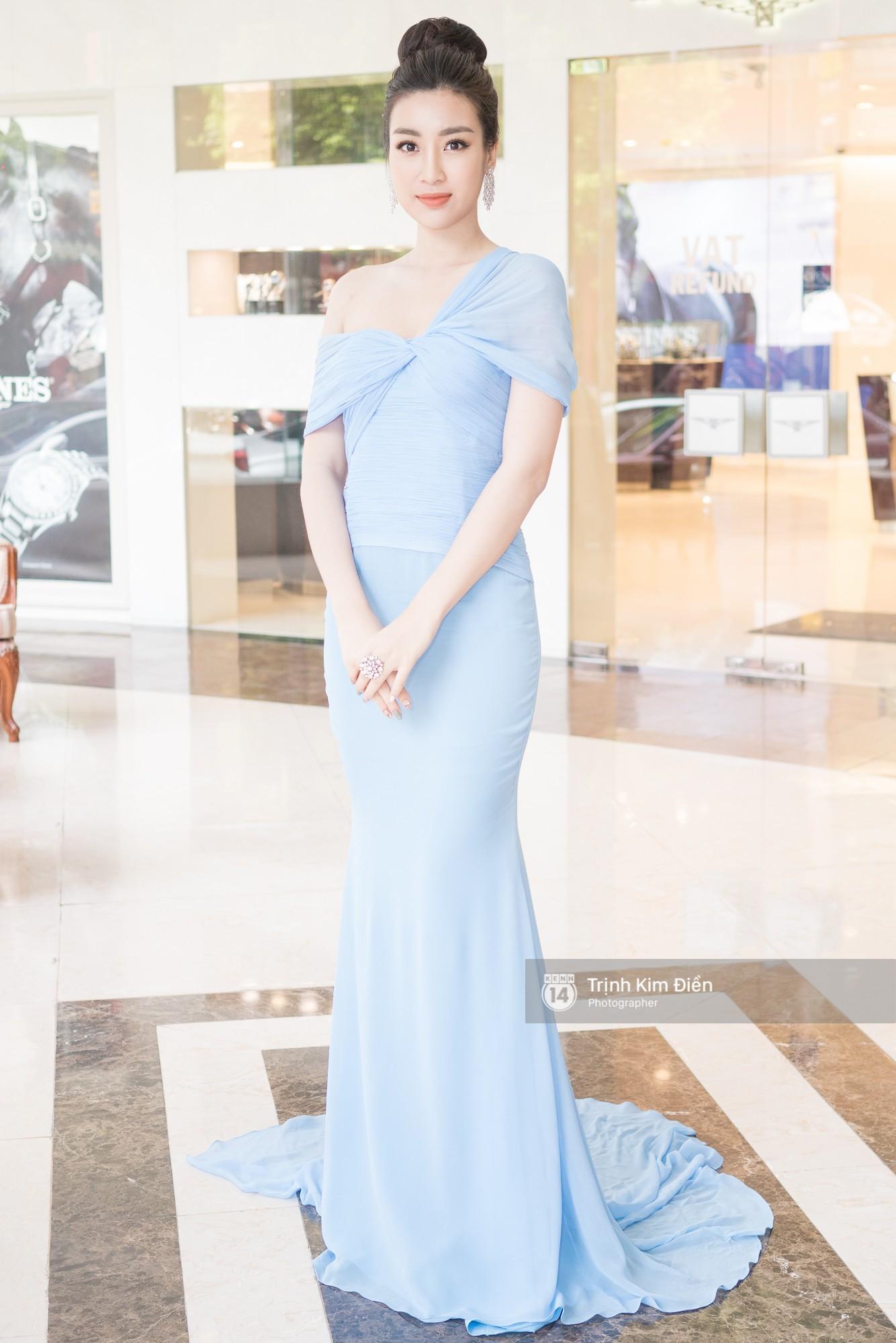 Bộ cánh mới nhất của Hoa hậu Mỹ Linh giống lạ kỳ hàng hiệu từ 6 năm trước của Mai Phương Thúy - Ảnh 2.