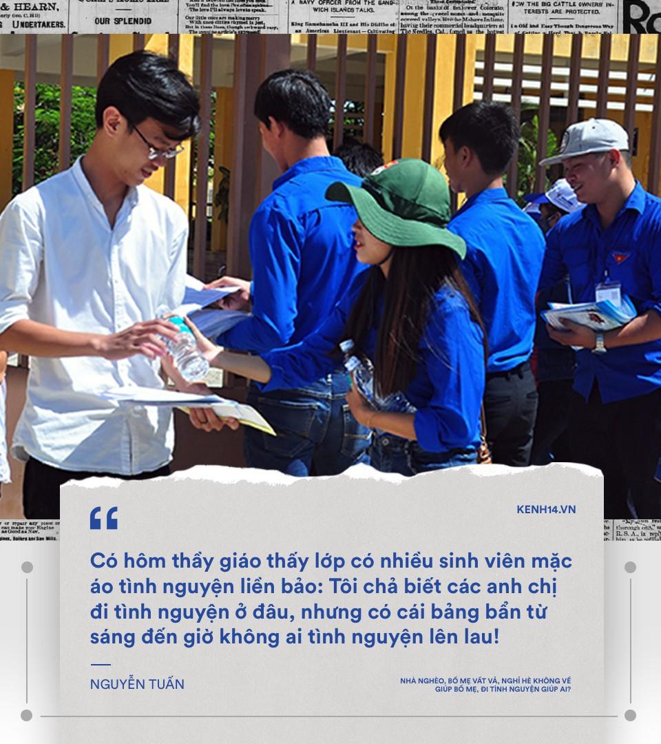 Nhà mình không bao giờ quét, ăn xong không rửa bát... mà sao sinh viên tình nguyện cứ chăm chăm đi cuốc đất, trồng cây cho người khác - Ảnh 13.