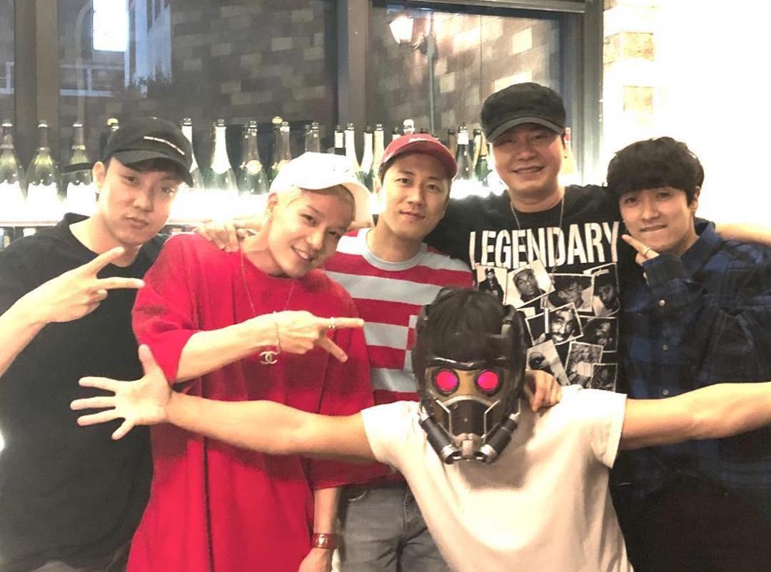 Black Pink còn chưa trở lại, YG đã xác nhận màn comeback của 5 anh già - Ảnh 1.