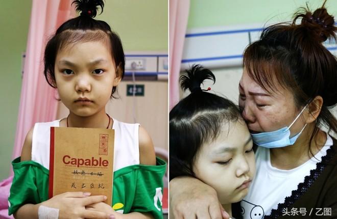 Không cầm được nước mắt trước Nhật ký chờ chết của cô bé 11 tuổi đang phải chống chọi với căn bệnh ung thư máu - Ảnh 1.