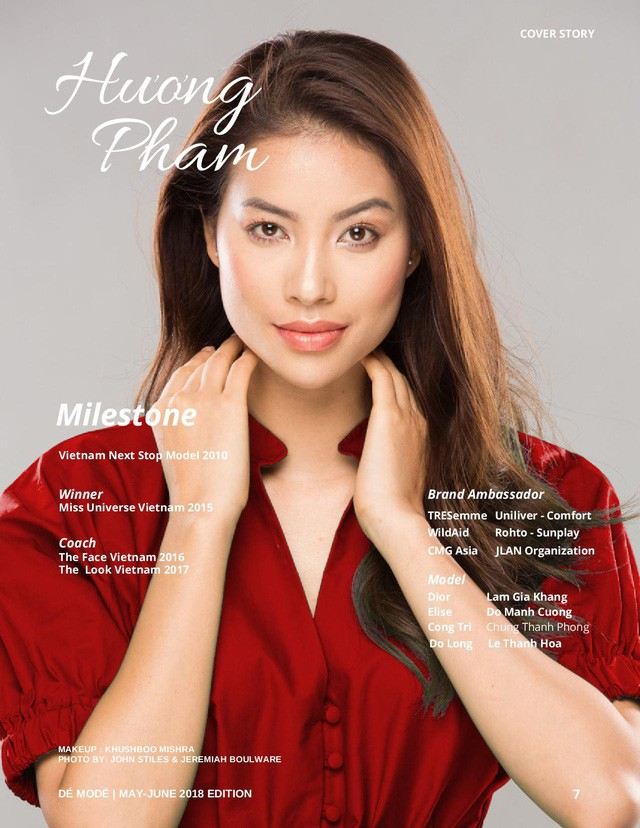 Sự thật về tạp chí danh giá Pháp mời Hoa hậu Phạm Hương làm mẫu trang bìa - Ảnh 1.