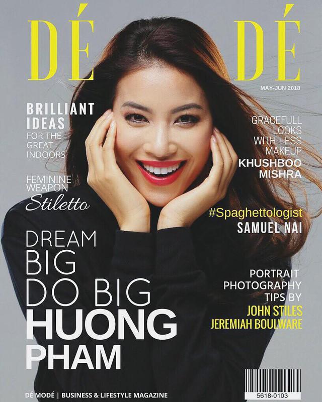 Sự thật về tạp chí danh giá Pháp mời Hoa hậu Phạm Hương làm mẫu trang bìa - Ảnh 2.