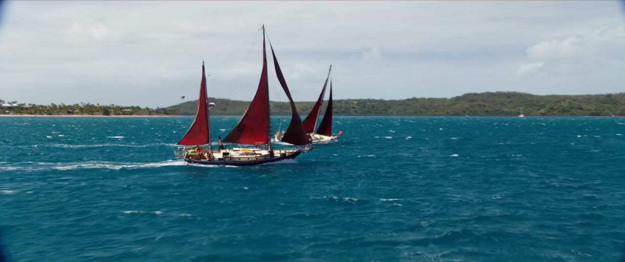 Có một nàng Rose giành lại chàng Jack từ biển trong phiên bản Titanic thuyền buồm Adrift - Ảnh 7.