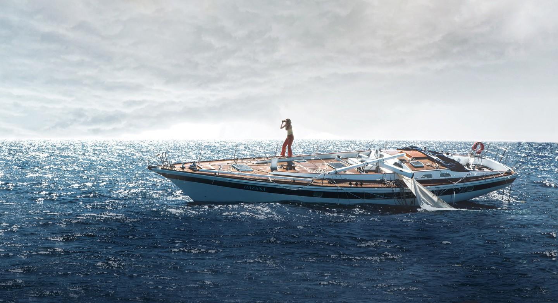 Có một nàng Rose giành lại chàng Jack từ biển trong phiên bản Titanic thuyền buồm Adrift - Ảnh 4.