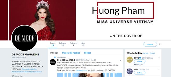 Sự thật về tạp chí danh giá Pháp mời Hoa hậu Phạm Hương làm mẫu trang bìa - Ảnh 5.