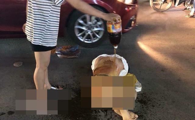 Triệu tập 4 người đánh ghen bằng cách đổ nước mắm, muối ớt lên người cô gái trẻ ở Thanh Hóa - Ảnh 1.