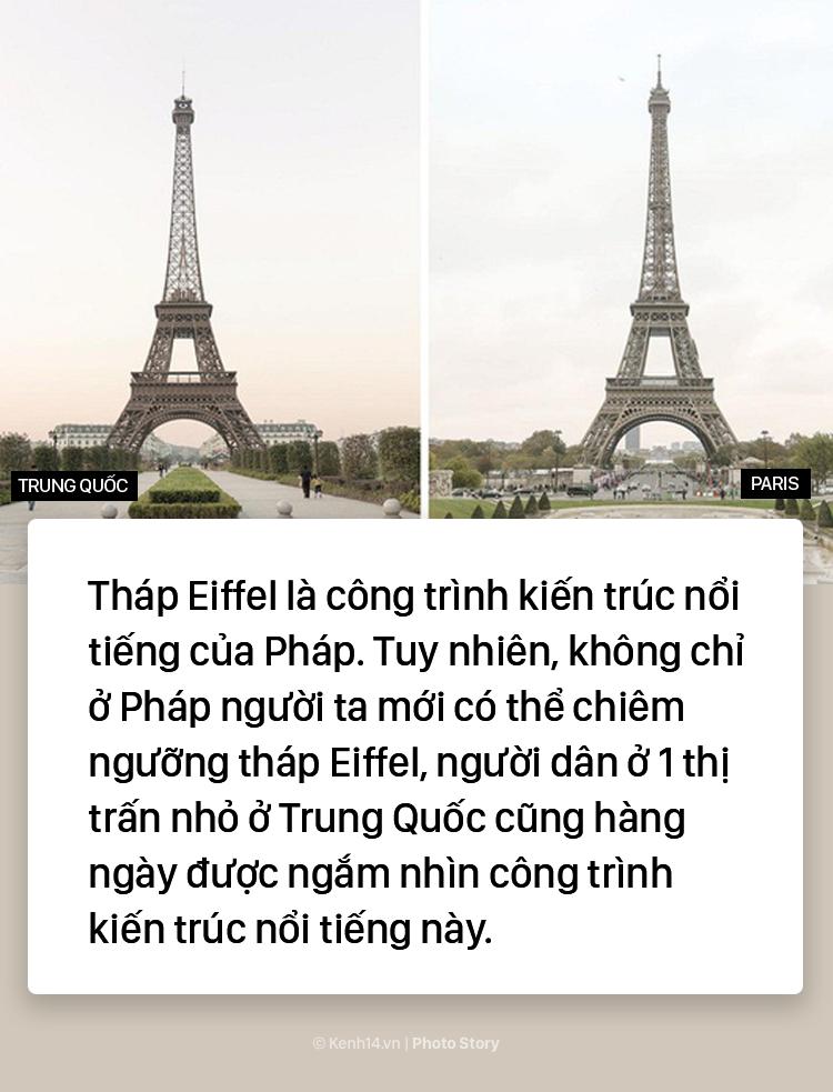 """Tháp Eiffel """"made in China"""" cứu sống thị trấn ma ở Trung Quốc - Ảnh 1."""