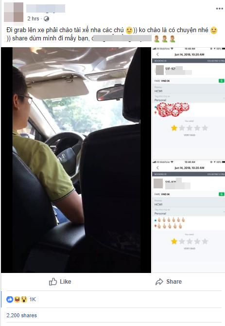 Clip: Tài xế Grab bức xúc, xưng tao - mày rồi mắng chửi nữ hành khách vì lên xe người ta mà không chào, mở cửa ngồi như phỗng - Ảnh 1.