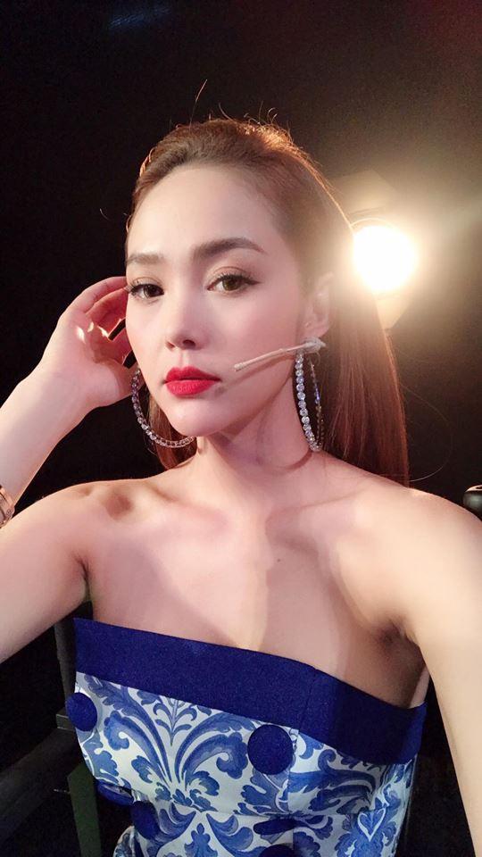 Đăng clip mới trên Instagram, Minh Hằng lại tiếp tục bị soi vì... cằm - Ảnh 2.