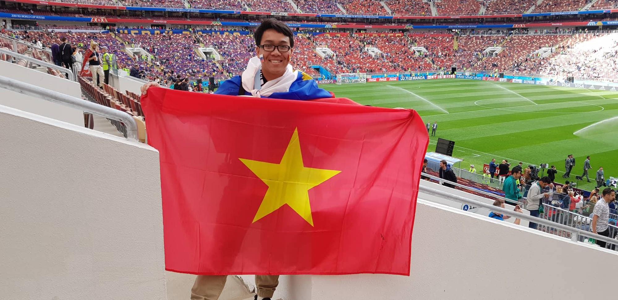 Du học sinh Việt tại Nga đang khiến bạn bè ở quê nhà ghen tỵ vì được đến tận nơi xem World Cup 2018 - Ảnh 2.